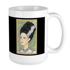 Bride of Frankenstein Large Mug