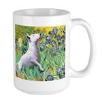 Irises / Bully #3 Large Mug