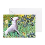 Irises / Bully #3 Greeting Cards (Pk of 20)