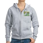 Irises / Bully #3 Women's Zip Hoodie