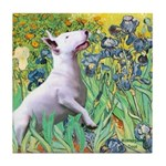 Irises / Bully #3 Tile Coaster