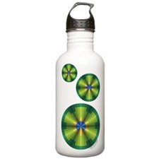 Peacock Illusion Water Bottle