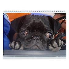"PugVillage - Pug Wall Calendar ""C"""