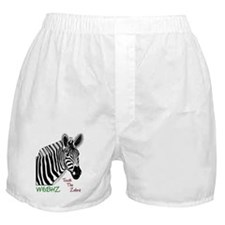 Touch the Zebra Boxer Shorts