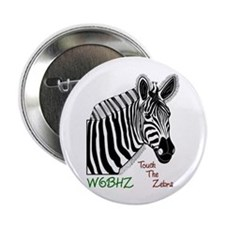 "Touch the Zebra 2.25"" Button (10 pack)"