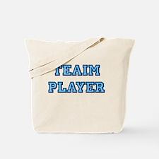 Teaim Player (blue) Tote Bag