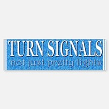 Turn Signals (bumper sticker)