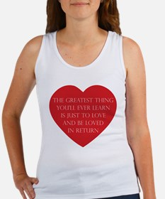 Love and be Loved Women's Tank Top