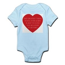 Love and be Loved Infant Bodysuit