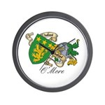 O'More Family Sept Wall Clock