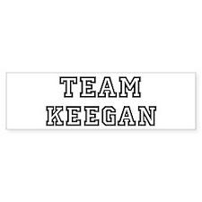 Team Keegan Bumper Bumper Sticker