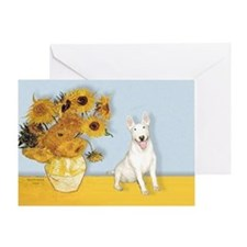 Sunflowers / Bully #4 Greeting Card