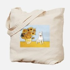 Sunflowers / Bully #4 Tote Bag