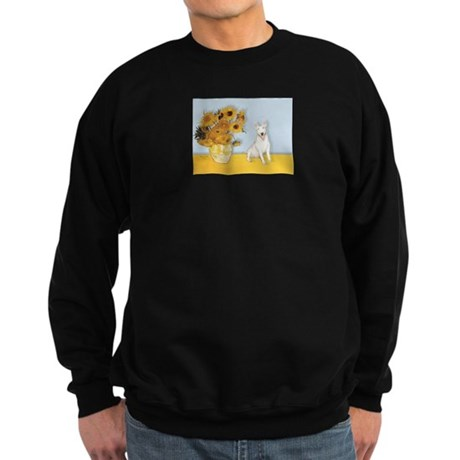 Sunflowers / Bully #4 Sweatshirt (dark)