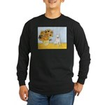 Sunflowers / Bully #4 Long Sleeve Dark T-Shirt