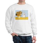 Sunflowers / Bully #4 Sweatshirt