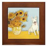 Sunflowers / Bully #4 Framed Tile
