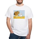 Sunflowers / Bully #4 White T-Shirt