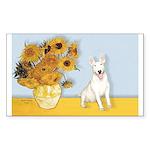 Sunflowers / Bully #4 Sticker (Rectangle 10 pk)