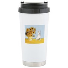 Sunflowers / Bully #4 Travel Mug