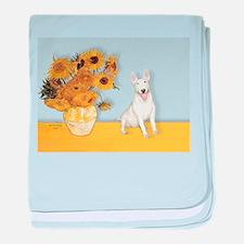Sunflowers / Bully #4 baby blanket