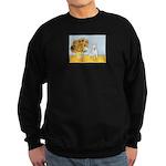 Sunflowers / Bully #4 Sweatshirt (dark)