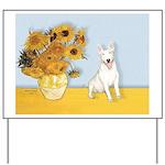 Sunflowers / Bully #4 Yard Sign