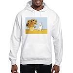 Sunflowers / Bully #4 Hooded Sweatshirt
