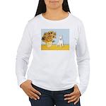 Sunflowers / Bully #4 Women's Long Sleeve T-Shirt