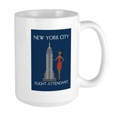New York Flight Attendant Mug