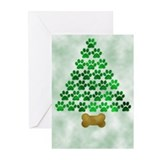 Dog christmas Greeting Cards (10 Pack)