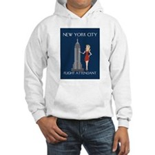 New York Flight Attendant Hoodie