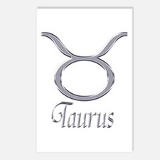 Taurus Zodiac Gifts Postcards (Package of 8)