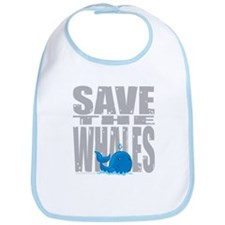 Save the Whales Bib