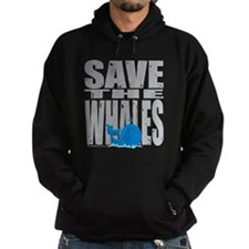 Save the Whales Hoodie