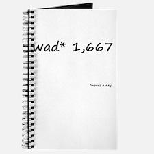WAD* 1,667 Journal