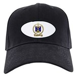 DESJARDINS Family Crest Black Cap
