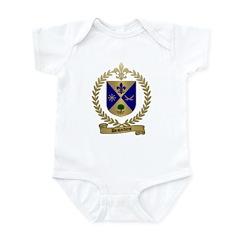 DESJARDINS Family Crest Infant Creeper
