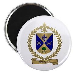 DESJARDINS Family Crest Magnet