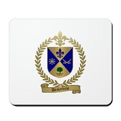 DESJARDINS Family Crest Mousepad