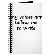 My Voices Are Telling Me To W Journal