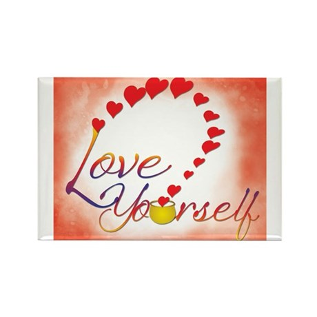 Love Yourself Rectangle Magnet (10 pack)