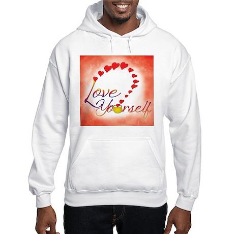 Love Yourself Hooded Sweatshirt