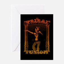 Tribal Fusion Greeting Card