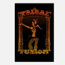 Tribal Fusion Postcards (Package of 8)