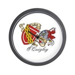 O'Quigley Family Sept Wall Clock