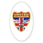 UK Badge Sticker (Oval 10 pk)