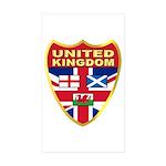UK Badge Sticker (Rectangle 50 pk)