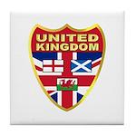 UK Badge Tile Coaster