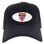 UK Badge Black Cap
